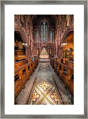 English Church 2 Framed Print by Adrian Evans