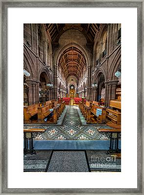 English Church Framed Print by Adrian Evans