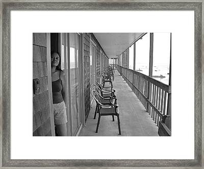 Enigma Framed Print by Pam Lakes