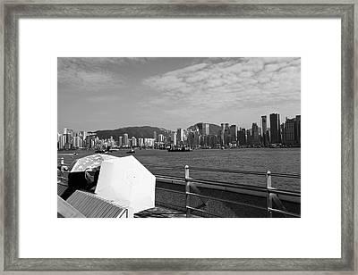 Enjoying The Sun Framed Print by Richard WAN