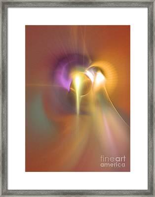 Enlightened Framed Print by Sipo Liimatainen