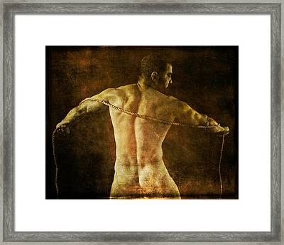 Enlightenment 6 Framed Print by Chris Lopez