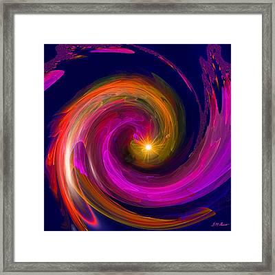 Entering Inner Space Framed Print by Michael Durst