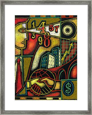 Enterprise Framed Print by Leon Zernitsky