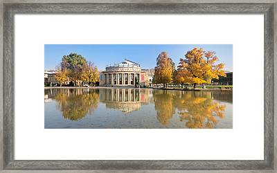 Entertainment Building Framed Print by Panoramic Images