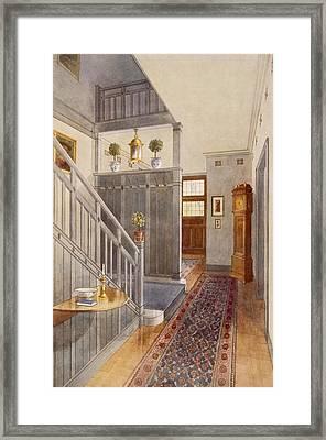 Entrance Passage Framed Print by Richard Goulburn Lovell