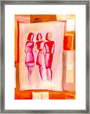 Entre Nous Framed Print by Mirko Gallery