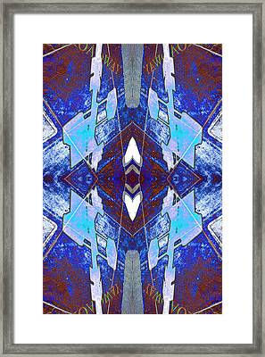 Entropic Four Way Pairs 2013 Framed Print by James Warren