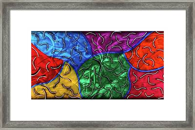 Entropy Framed Print by Rick Roth