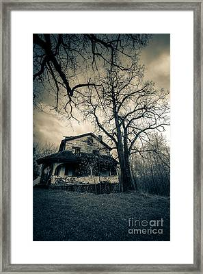 Entropy's Gift Framed Print by CM Goodenbury