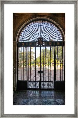 Entry To Hearst Castle - California Framed Print by Jon Berghoff