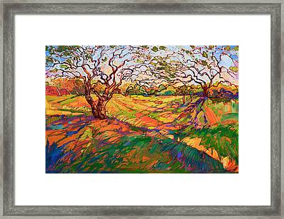 Entwined Framed Print by Erin Hanson