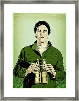 Envy Is Green Framed Print by Giuseppe Cristiano