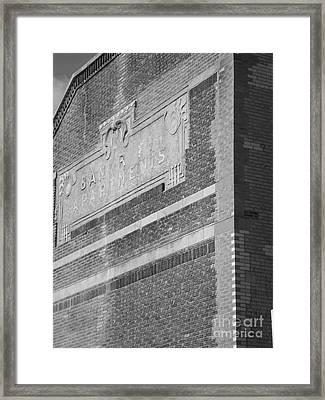 Ephemeral Bancroft Framed Print by Ami Fazchas