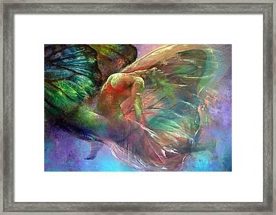 Ephemeral Life Framed Print by Karina Llergo Salto