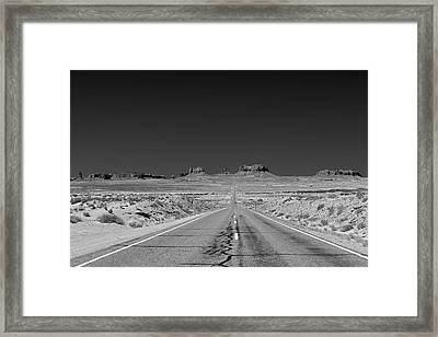 Epic Monument Valley Framed Print by Christine Till