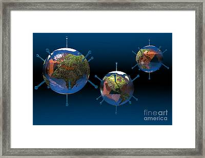 Epidemic Framed Print by Carol and Mike Werner