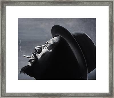 Epistrophy Framed Print by Brian Broadway