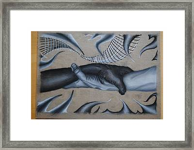 Equal Grasp Framed Print by Garrett Hammersley