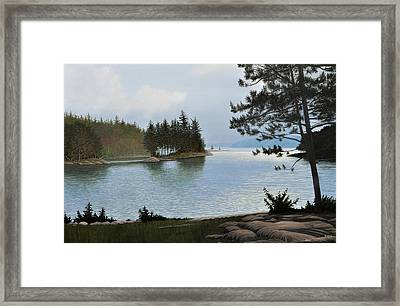 Equanimity Framed Print by Kenneth M  Kirsch