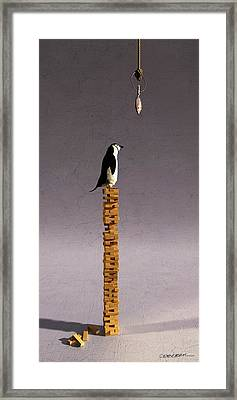 Equilibrium V Framed Print by Cynthia Decker