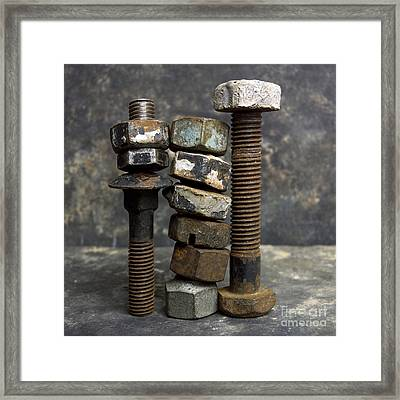 Equipment Framed Print by Bernard Jaubert