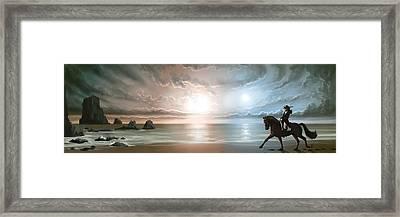 Equus Framed Print by Mark Zelmer