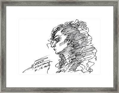 Erbi Framed Print by Ylli Haruni