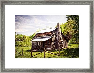 Erbie Homestead Framed Print by Marty Koch
