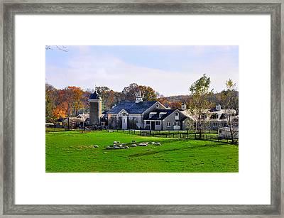Erdenheim Farm In Whitemarsh Pa Framed Print by Bill Cannon