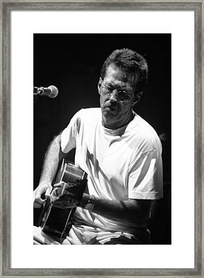 Eric Clapton 003 Framed Print by Timothy Bischoff