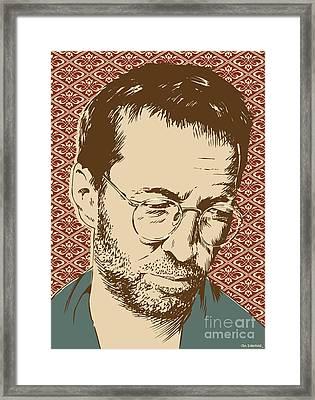 Eric Clapton Framed Print by Jim Zahniser