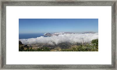 Erice Framed Print by Adrienne Franklin