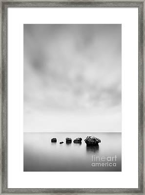 Erosion 2 Framed Print by Rod McLean