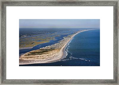 Escape To Topsail Island Framed Print by Betsy Knapp
