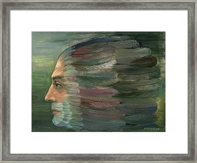 Escape To Transformation Framed Print by Horst Braun