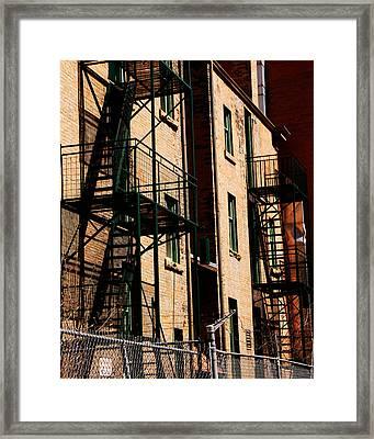 Escape Framed Print by Trever Miller