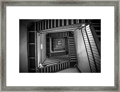 Escher Framed Print by Kristopher Schoenleber