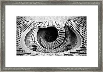 Escheresque Framed Print by Alexis Birkill