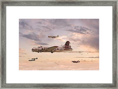 Escort Service Framed Print by Pat Speirs