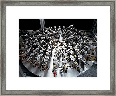 Eso Active Optics Experiment Equipment Framed Print by European Southern Observatory