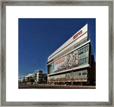 Espn Los Angeles Framed Print by Mountain Dreams