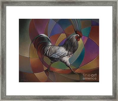 Espolones Or Spurs Framed Print by Ricardo Chavez-Mendez