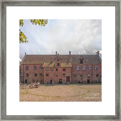 Esrum Kloster Framed Print by Antony McAulay