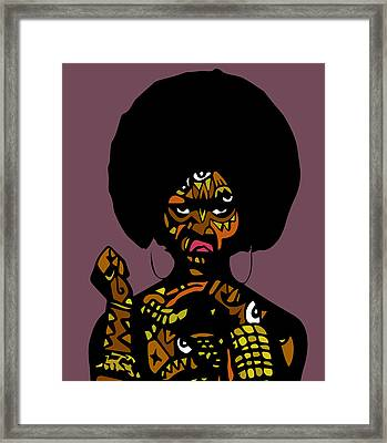Essence  Framed Print by Kamoni Khem