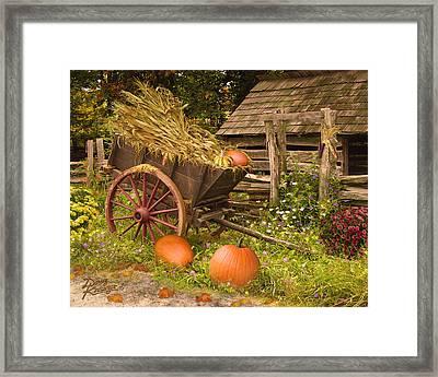 Essence Of Autumn  Framed Print by Doug Kreuger