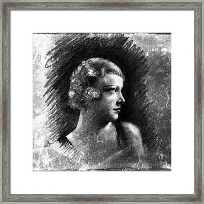 Esther Ralston Framed Print by Sean Seal