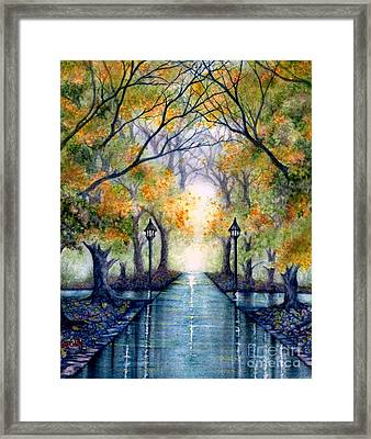Esu The Future Looks Bright Framed Print by Janine Riley