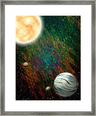 Etera Framed Print by Piero Lucia