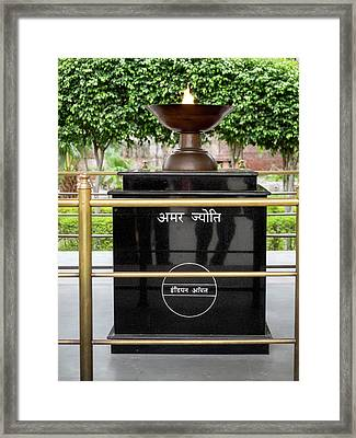 Eternal Flame At Jallianwala Bagh Framed Print by Panoramic Images
